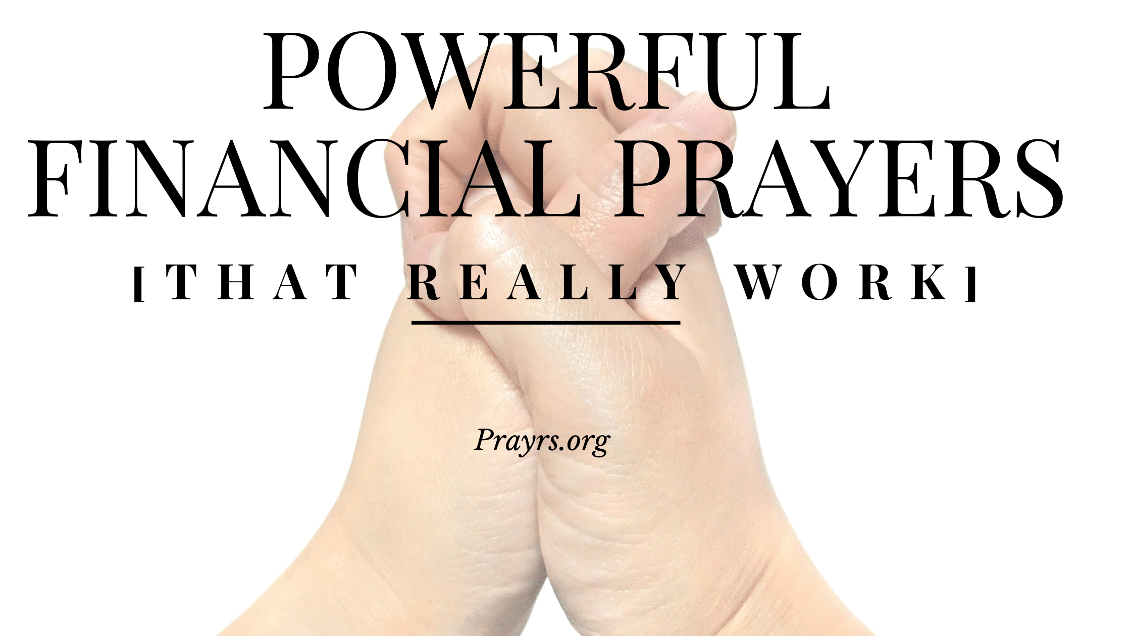 Powerful Financial Prayers that Really Work
