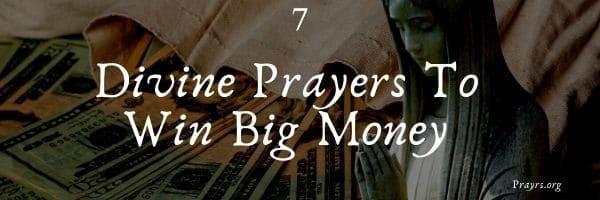 Prayers To Win Big Money