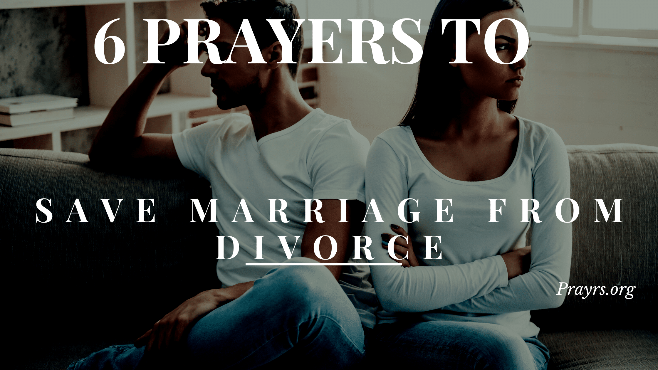 Prayers to Save Marriage from Divorce