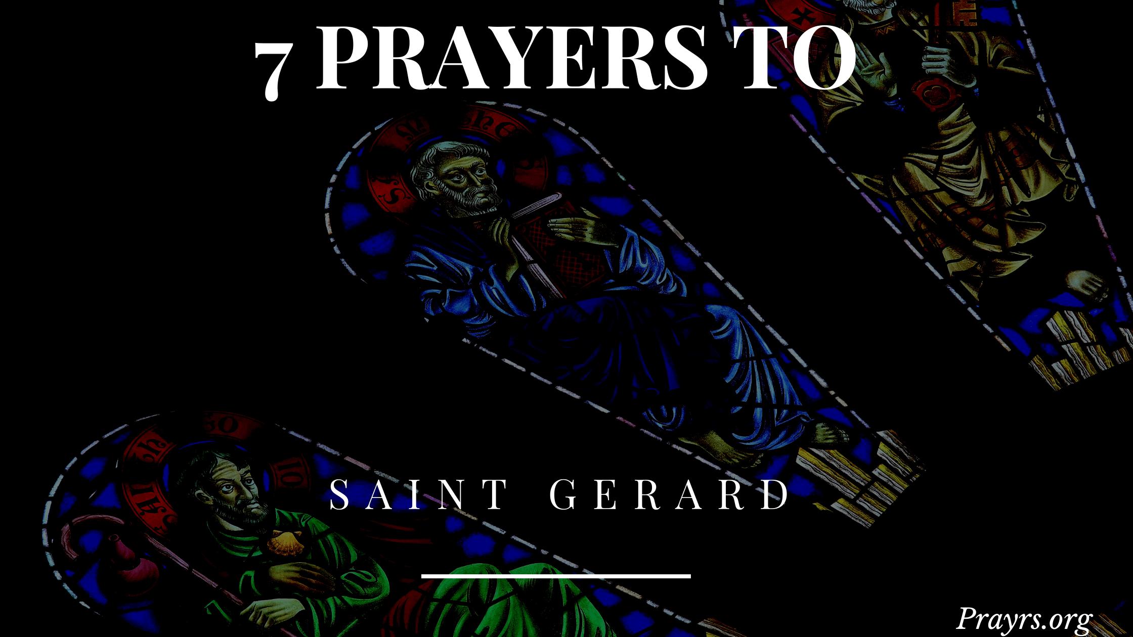 Saint Gerard Prayers