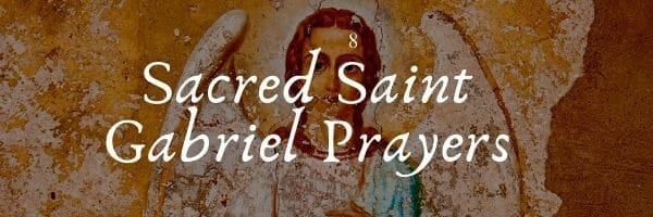 Saint Gabriel Prayers