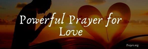 Prayer for Love