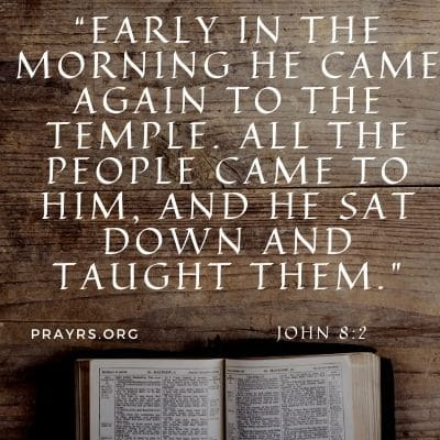 Scripture for Friday Morning