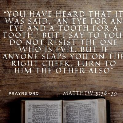 Scripture for Prisoners