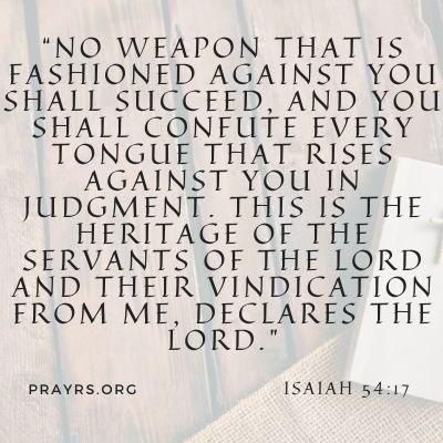 Scripture to Remove a Curse