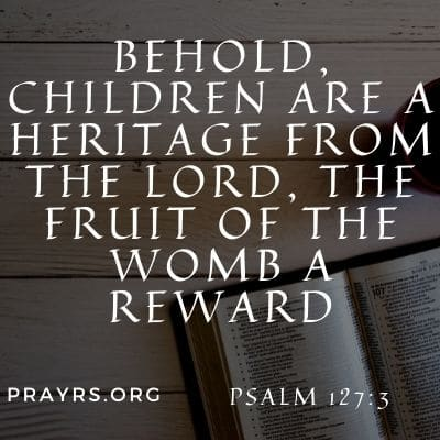 Bible Verse to Have a Baby