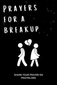 Breakup Prayers