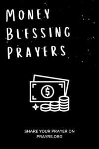 Money Blessing Prayers
