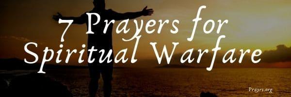 Prayers for Spiritual Warfare