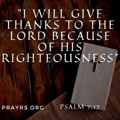 Bible Verse for Thanking God